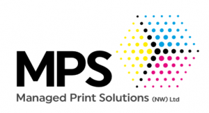 Managed Print Solutions Logo. Photocopier hire and leasing throughout the North West.